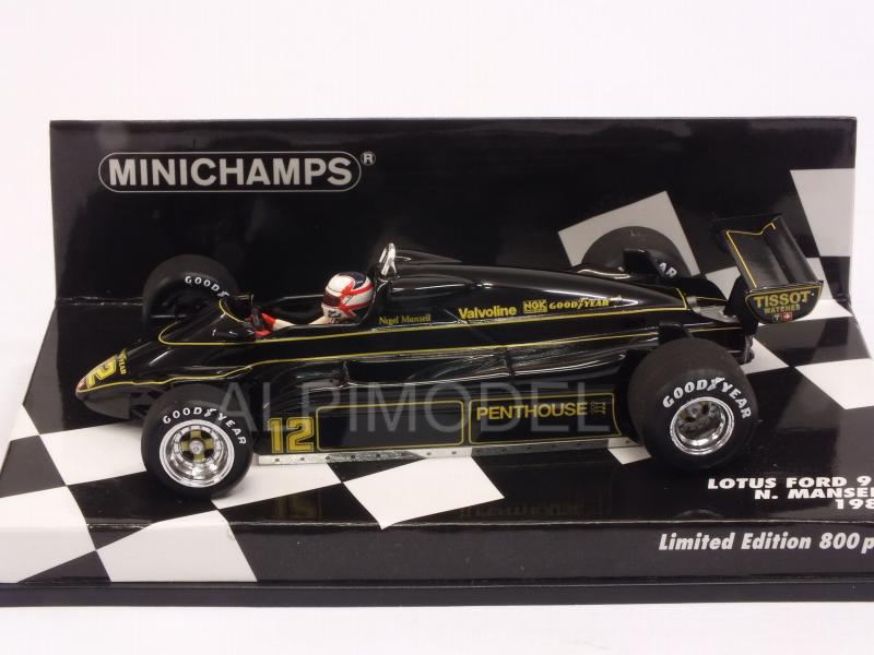 Lotus 91 Ford #12 1982 Nigel Mansell  (HQ Resin) - minichamps