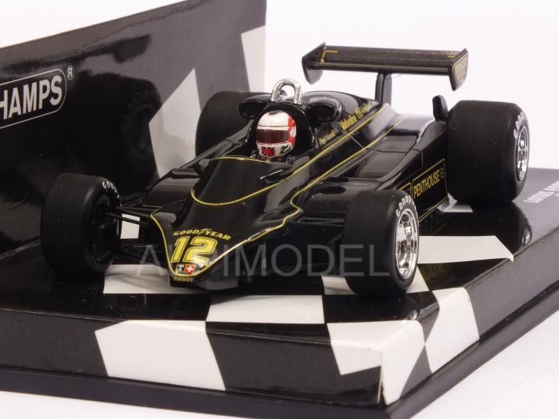 Lotus 91 Ford #12 1982 Nigel Mansell  (HQ Resin) by minichamps