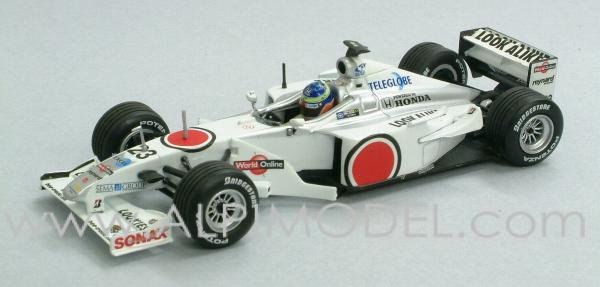 BAR 002 Honda 2000 R. Zonta by minichamps