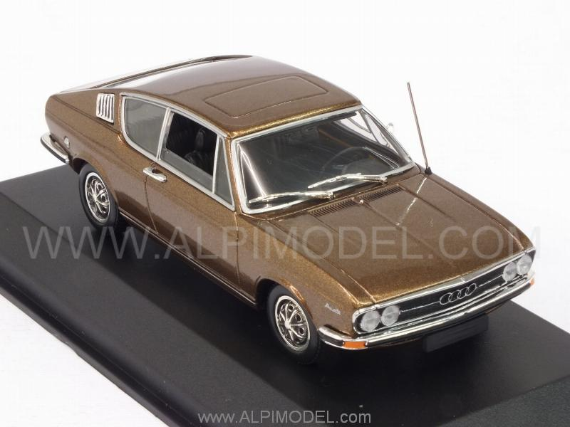 Audi 100 Coupe 1969 (Achat Brown Metallic) - minichamps