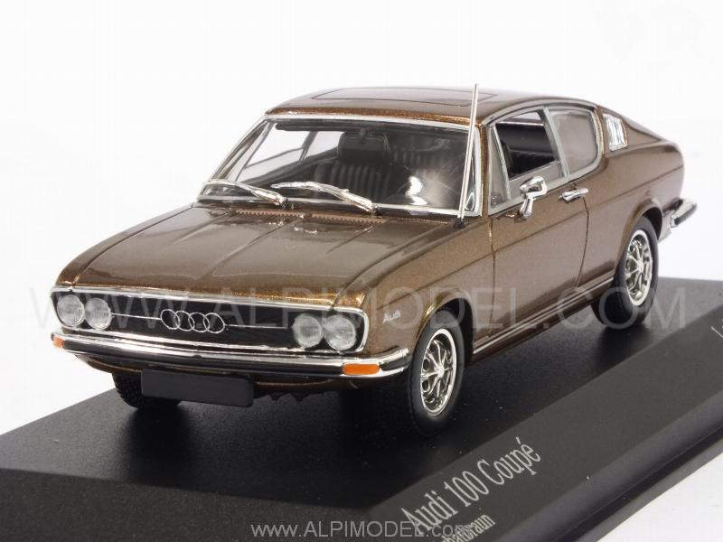 Audi 100 Coupe 1969 (Achat Brown Metallic) by minichamps