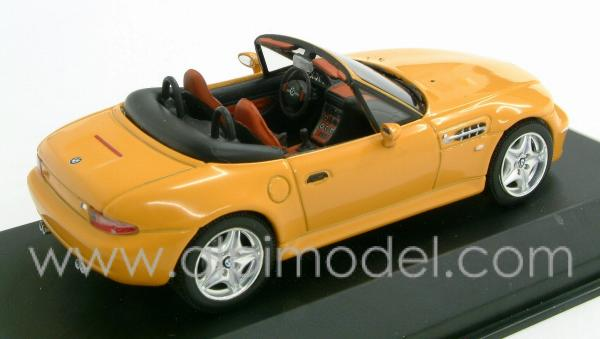 Minichamps Bmw Z3 M Roadster Kyalami Orange 1 43 Scale