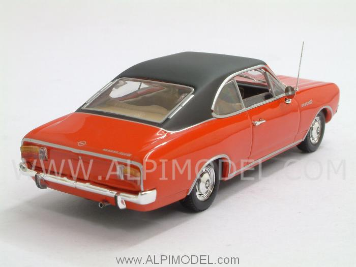 Opel Rekord C Coupe 1966 (Rally Red) - minichamps