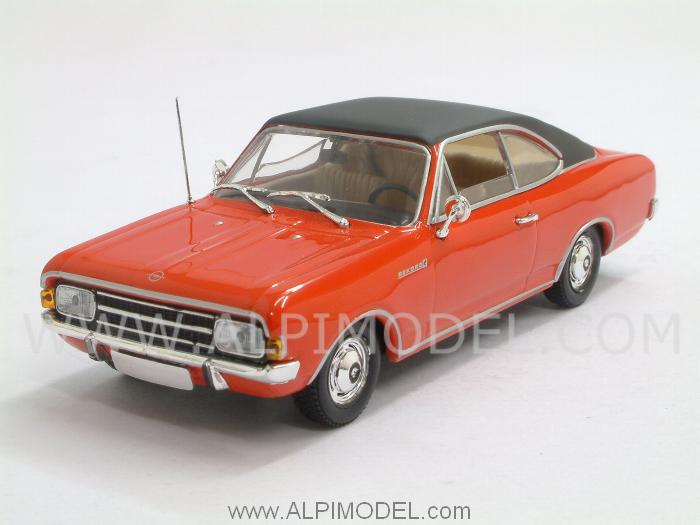 Opel Rekord C Coupe 1966 (Rally Red) by minichamps