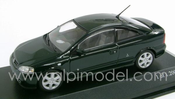 Opel Astra Coupe 2000 (green) by minichamps