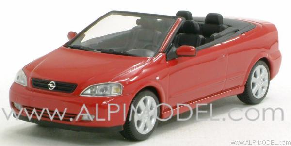 Opel Astra Cabriolet 2000 (Magma Red) by minichamps