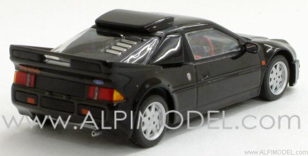 Ford RS 200 right-hand-drive 1986 (Black) - minichamps