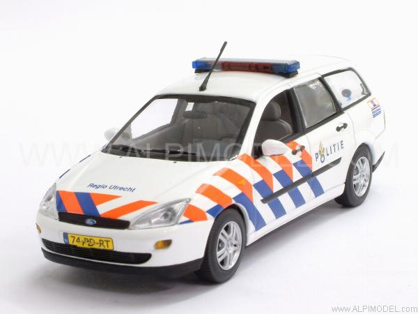 Ford Focus Turnier Politie by minichamps