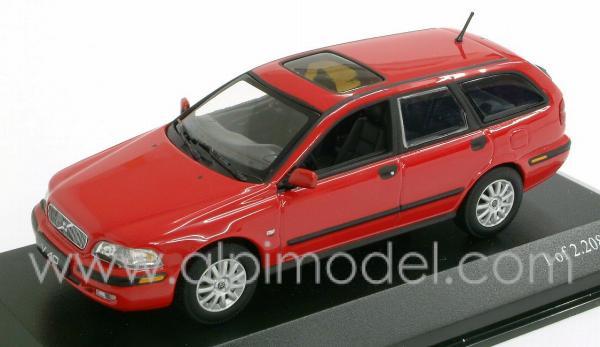 MINICHAMPS 430171110 Volvo V40 2000 (Flam red) 1/43