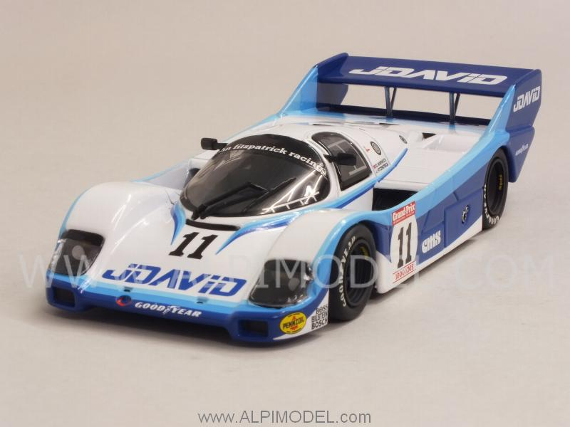 Porsche 956 Jdavid #11 Winner 1000 Km Brands Hatch 1983 Fitzpatrick - Warwick by minichamps