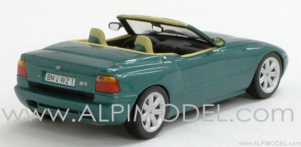 minichamps bmw z1 1991 green metallic 39 minichamps car collection 39 1 43 scale model. Black Bedroom Furniture Sets. Home Design Ideas