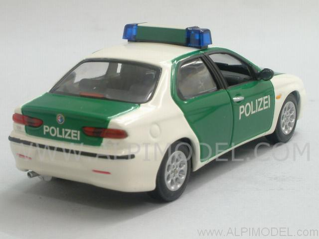 Alfa Romeo 156 Polizei 1997 'Minichamps Car Collection' - minichamps