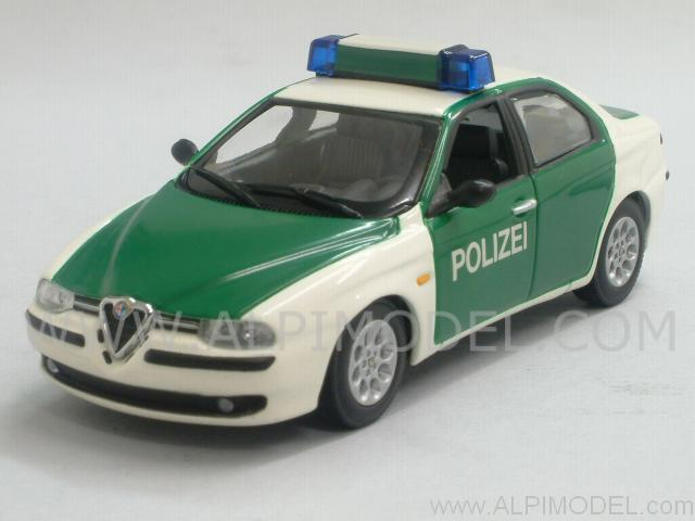 Alfa Romeo 156 Polizei 1997 'Minichamps Car Collection' by minichamps