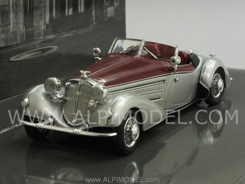 Horch 855 Special Roadster 1938 Silver/Red by minichamps