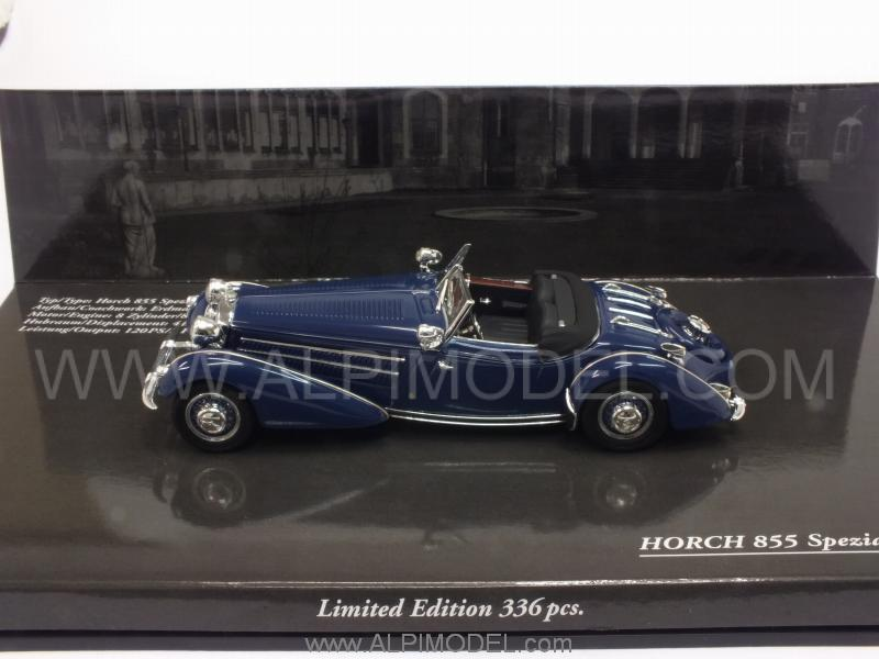 Horch 855 Special Roadster 1938 (Dark Blue) - minichamps