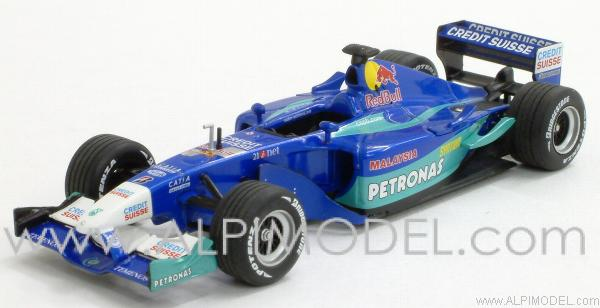 Sauber C21 Petronas  Gift Box with engine sound by minichamps