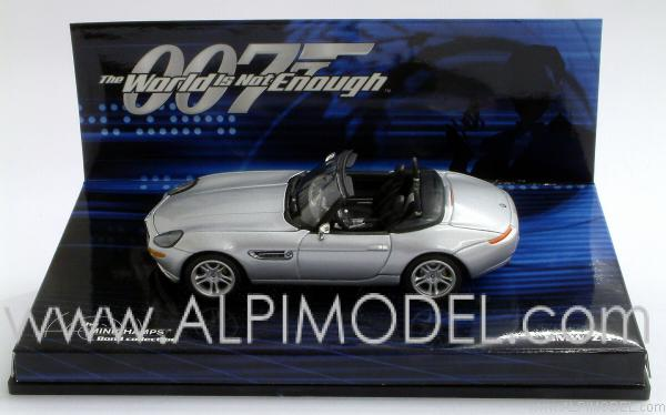 Minichamps Bmw Z8 007 James Bond The World Is Not Enough