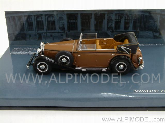 Maybach Zeppelin 1932 Brown - minichamps