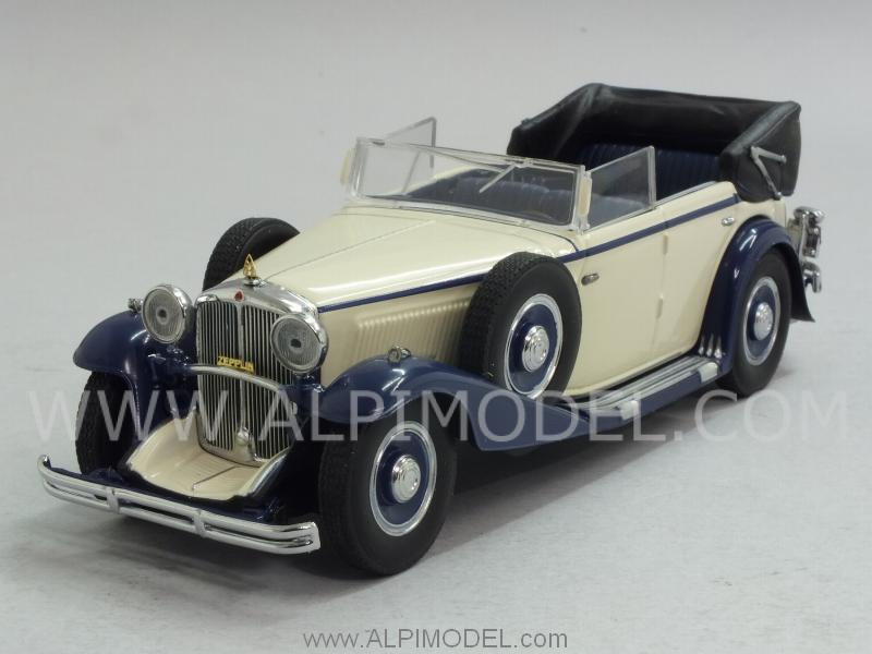 Maybach Zeppelin 1932 (White/Blue) by minichamps