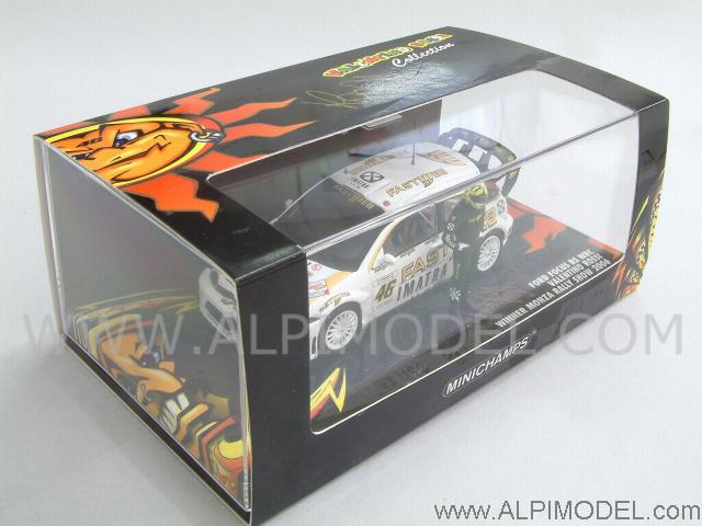 Ford Focus RS WRC Winner Rally Monza Show 2006 Valentino Rossi - minichamps