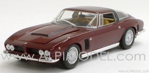 Iso Grifo 7 Litri 1968 Red Metallic  (in Gift box) by minichamps