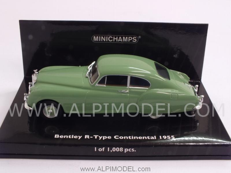 Bentley R-Type Continental 1955 (Green) - minichamps