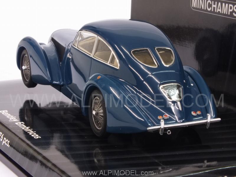 1:43 436139821 blue MINICHAMPS Bentley Embiricos 1938
