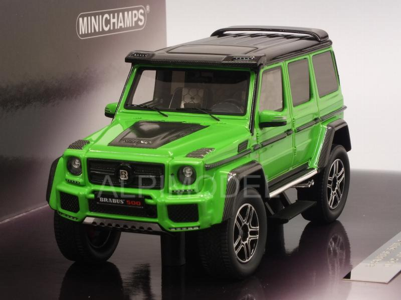 Brabus 500 4x4 (Mercedes G500) 2016 (Green) by minichamps
