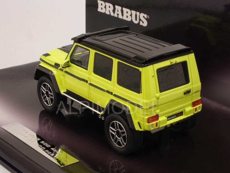 Brabus 500 4x4-2 (Mercedes G500) 2016 (Yellow) - minichamps