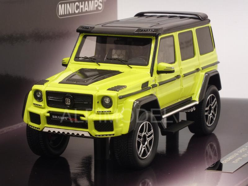 Brabus 500 4x4-2 (Mercedes G500) 2016 (Yellow) by minichamps