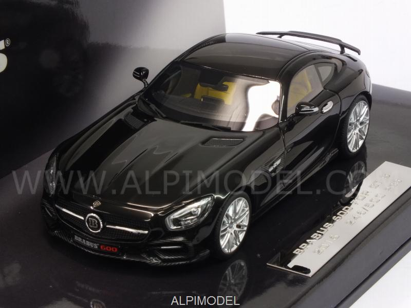 Brabus 600 for GT S 2016 2016 (Black) - minichamps