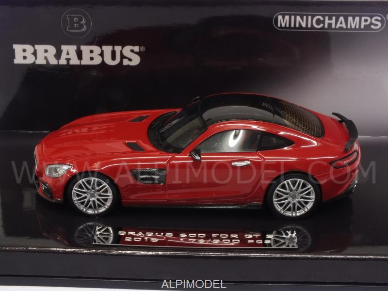 Brabus 600 for GT S 2016 2016 (Red) - minichamps