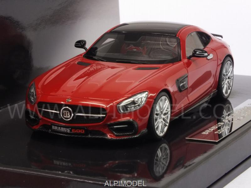 Brabus 600 for GT S 2016 2016 (Red) by minichamps