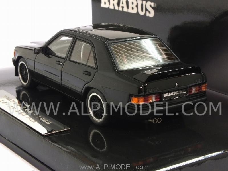 Brabus 3.6S (190E W201) 1988 (Black) (resin) - minichamps