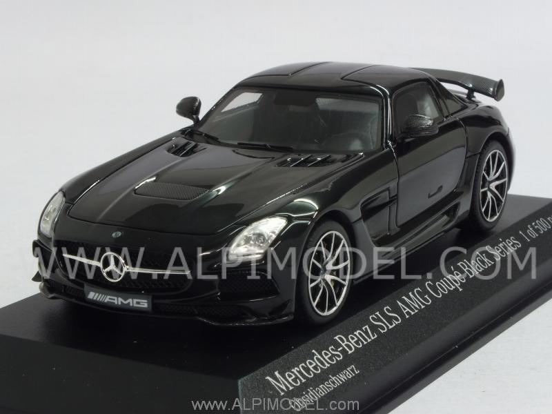 Mercedes SLS AMG Black Series Obsidianschwarz by minichamps