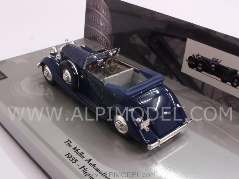 Hispano Suiza J12 Cabriolet 1935 Mullin Museum Collection - minichamps