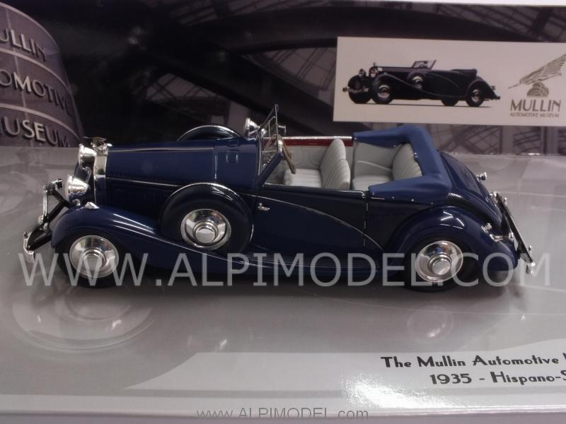 Hispano Suiza J12 Cabriolet 1935 Mullin Museum Collection by minichamps