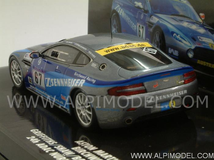 Aston Martin Vantage V8 N24 #67  Nurburgring 2010 Griffiths - Shauw - Borness - Rubis - minichamps