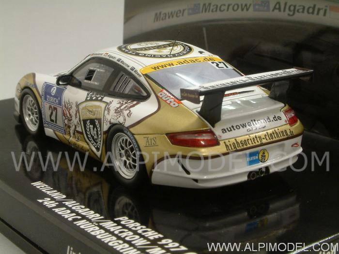 Porsche 997 Cup #27 Nurburgring 2010 Weiland - Algadri -Macrow- Mawer 'Minichamps Evolution'(resin) - minichamps