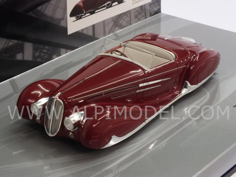 Delahaye Type 165 Cabriolet 1939   Mullin Museum Collection - minichamps