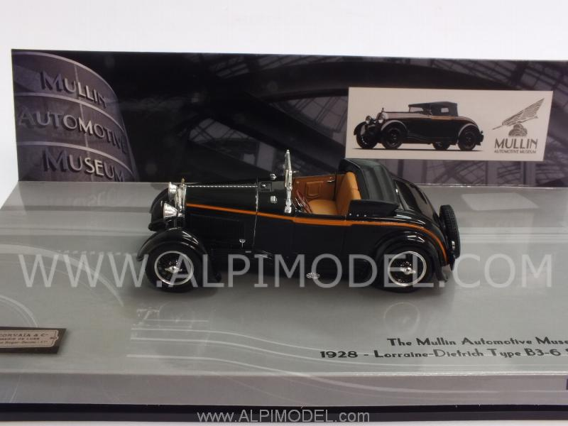 Lorraine Dietrich Type B3-6 Sports Roadster 1928 Mullin Museum Collection by minichamps