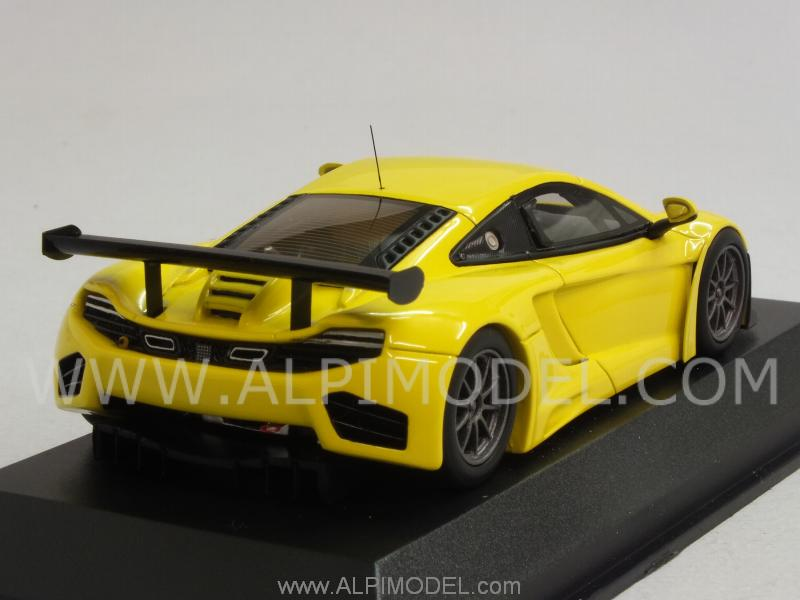 McLaren MP4/12C GT3 Street 2012 (Yellow) - minichamps