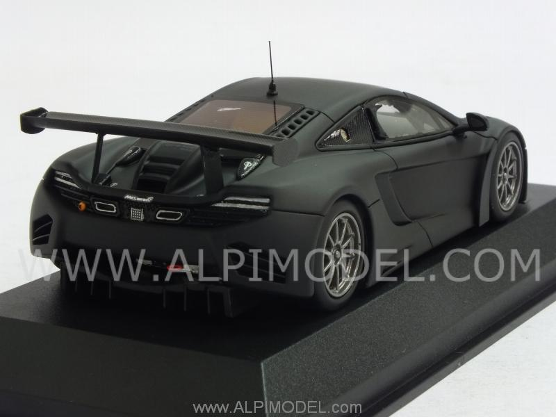McLaren MP4/12C GT3 Street 2012 (Matt Black) - minichamps