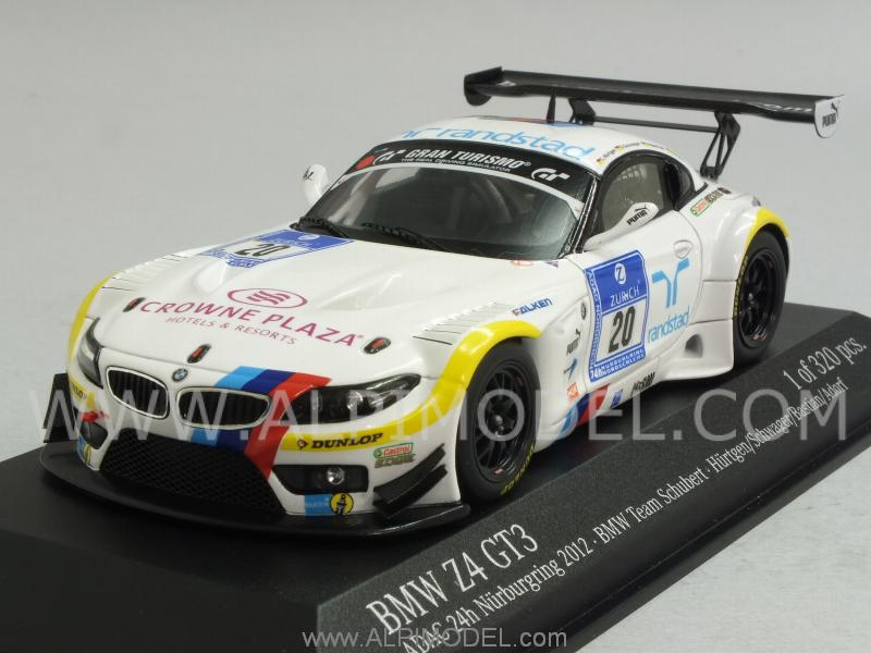 Minichamps Bmw Z4 Gt3 20 Adac Nurburgring 2012 Hurtgen
