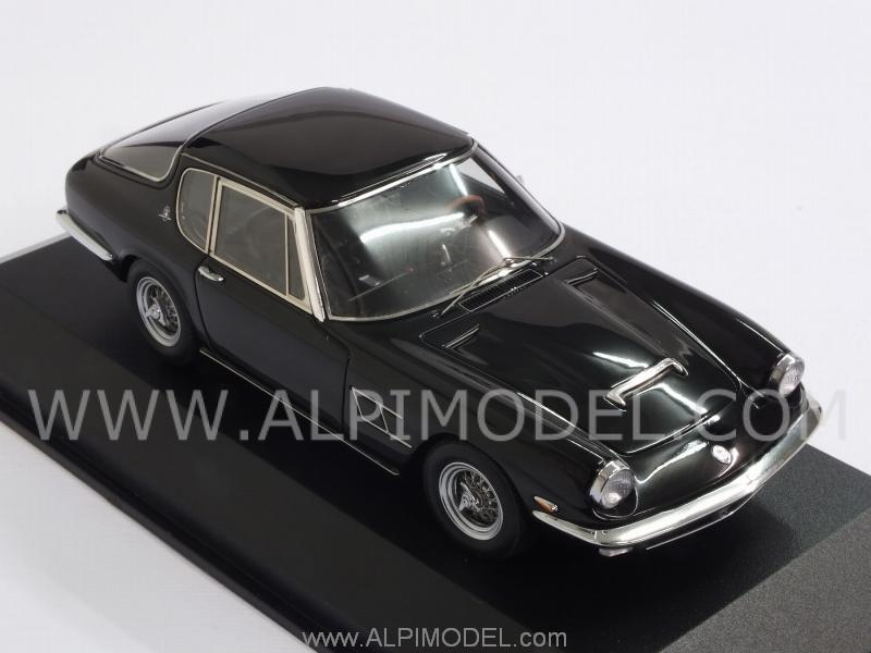 black Maserati Mistral Coupe 1963