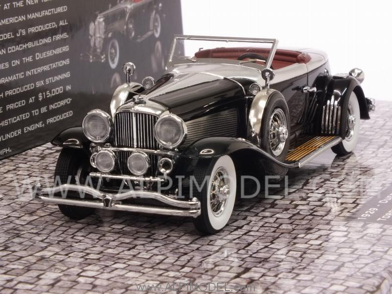 Duesenberg Model J Torpedo Convertible Coupe 1929 (Black) by minichamps