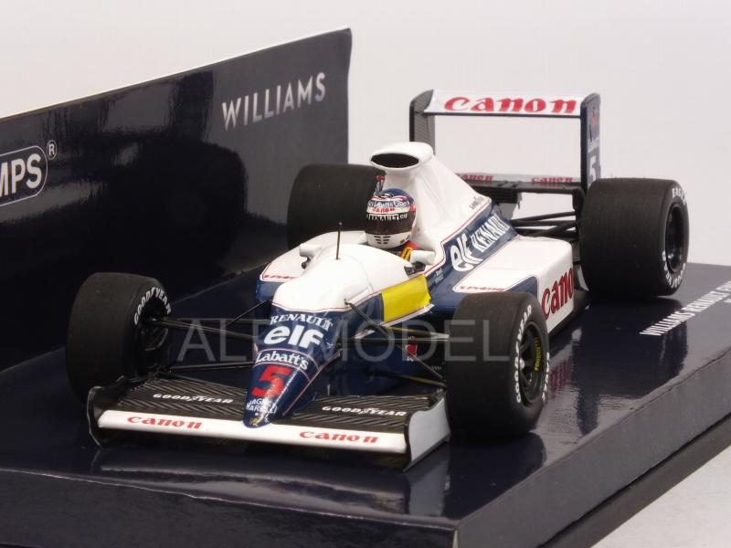 Williams FW13B Renault F1 Test Session 1991 Nigel Mansell  (HQ Resin) by minichamps