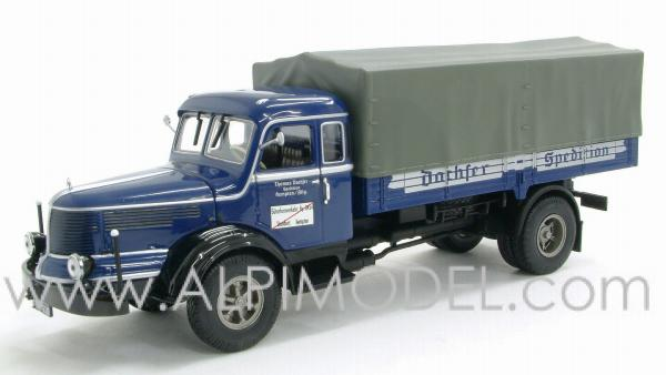 Krupp Titan Canvas Dachser 1950 by minichamps