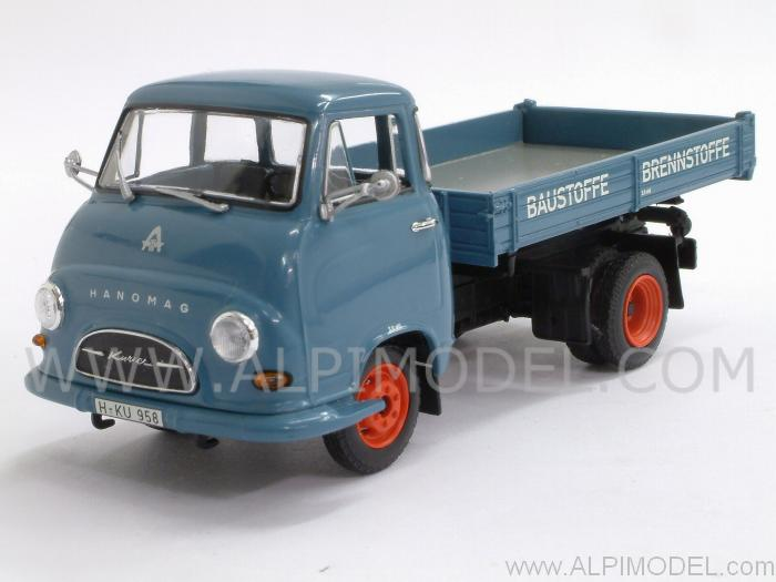 Hanomag Kurier Kipper 1958 (Blue) by minichamps