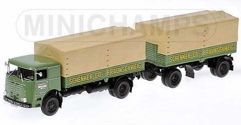 Buessing LU 11/16 Schenker by minichamps
